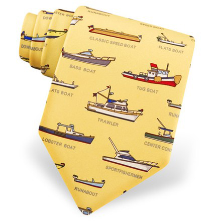 Alynn Men's Sailboat Neck Tie